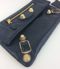 Load image into Gallery viewer, Balenciaga giant gold 21 envelope clutch