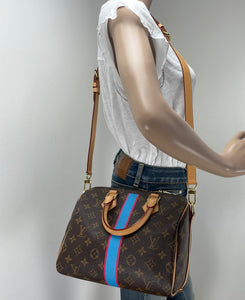 Louis Vuitton Speedy 25 bandouliere My LV Heritage