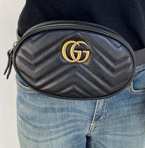 Gucci marmont belt bag size 85
