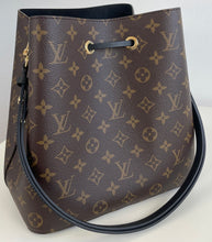 Load image into Gallery viewer, Louis Vuitton neo noe monogram black