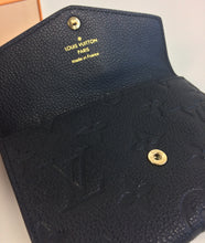 Load image into Gallery viewer, Louis Vuitton card or key pouch in empreinte