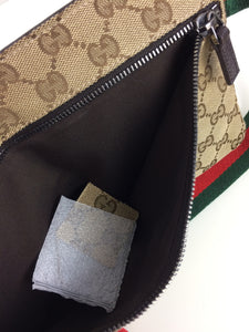Gucci GG canvas belt / waist bag