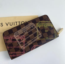 Load image into Gallery viewer, Louis Vuitton trunks zippy wallet