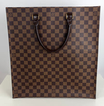 Load image into Gallery viewer, Louis Vuitton sac plat damier ebene