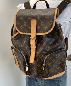 Louis Vuitton bosphore backpack bag