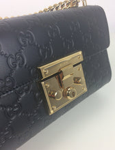 Load image into Gallery viewer, Gucci small signature padlock bag
