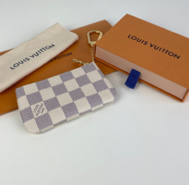 Louis Vuitton key pouch azur