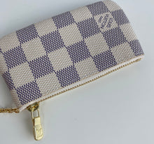 Load image into Gallery viewer, Louis Vuitton key pouch azur