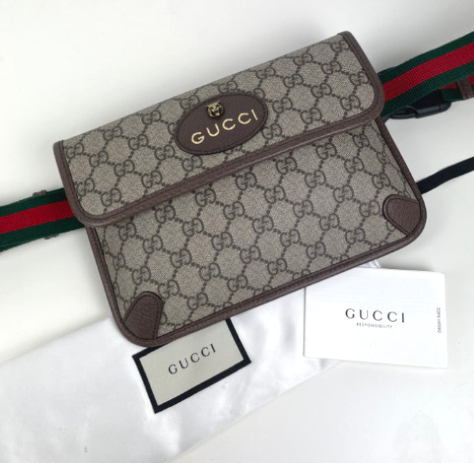 Gucci neo vintage GG Supreme belt bag
