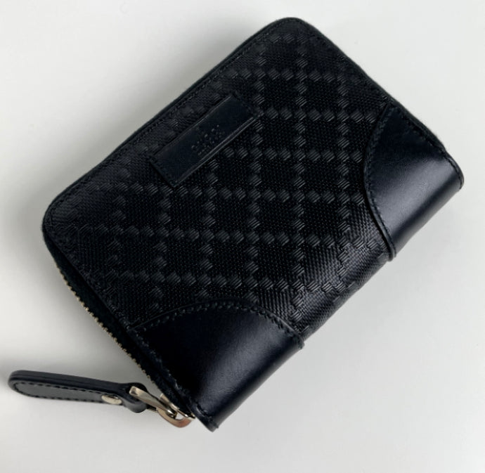 Gucci lux diamante leather cardcase wallet