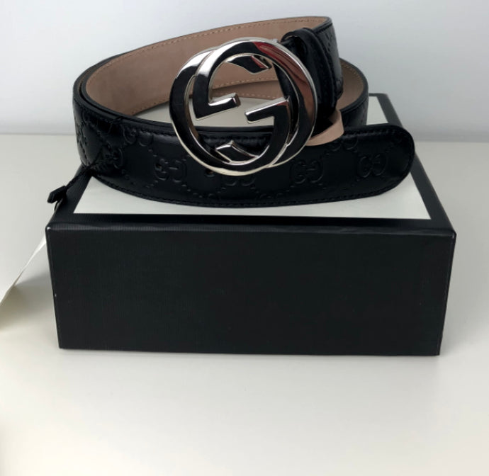 Gucci GG signature interlocking belt size 90