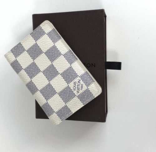 Louis Vuitton pocket organiser in azur