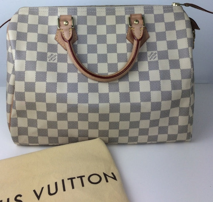 Louis Vuitton speedy 30 azur