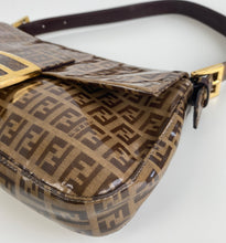 Load image into Gallery viewer, Fendi vintage monogram baguette bag
