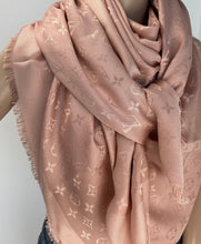 Load image into Gallery viewer, Louis Vuitton monogram shawl neutral