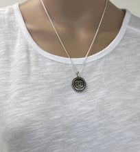 Load image into Gallery viewer, Re-purposed Chanel Vintage button Necklace