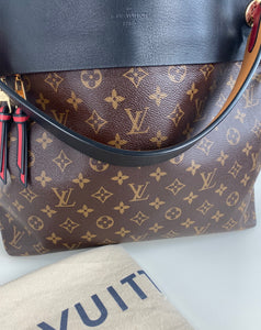 Louis Vuitton tuileries hobo noir