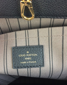 Louis Vuitton montaigne GM noir