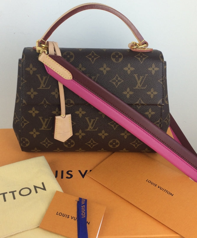 eaeb223c5f0 Louis Vuitton cluny BB monogram