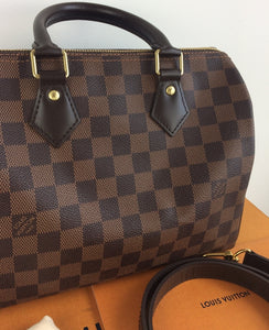 Louis Vuitton speedy 25 bandouliere