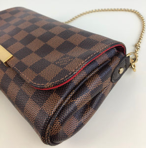 Louis Vuitton favorite pm damier ebene