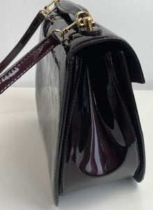 Louis Vuitton miranda MM vernis in amarante