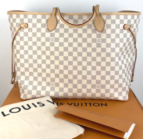 Louis Vuitton neverfull GM azur