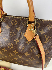 Louis Vutton speedy 30 with crossbody strap 16mm