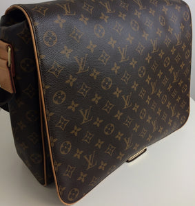 Louis Vuitton abbesses GM monogram messenger bag