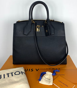 Louis Vuitton city steamer GM noir
