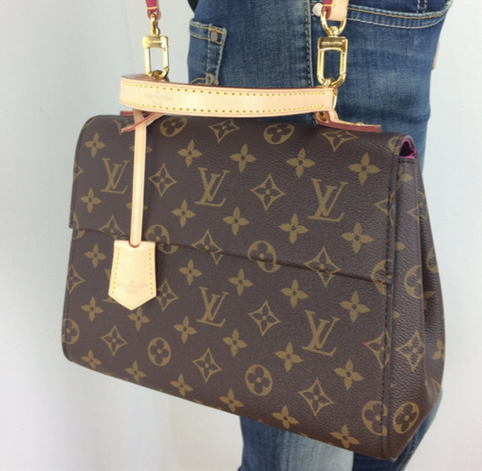Louis Vuitton cluny BB in monogram