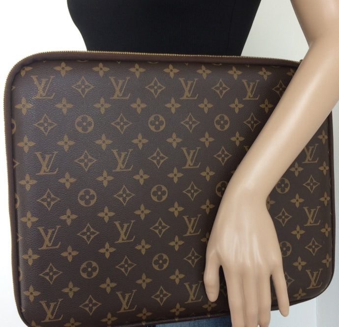 Louis Vuitton laptop sleeve / document holder