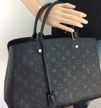 Load image into Gallery viewer, Louis Vuitton montaigne GM noir