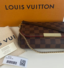 Load image into Gallery viewer, Louis Vuitton favorite pm damier ebene