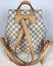 Load image into Gallery viewer, Louis Vuitton sperone backpack in damier azur
