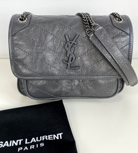 Saint Laurent baby Niki in vintage leather