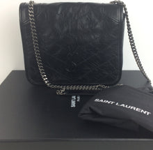 Load image into Gallery viewer, Saint Laurent niki vintage leather chain wallet