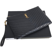 Load image into Gallery viewer, Saint Laurent Monogram tablet pouch