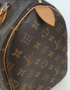 Louis Vuitton speedy 35 monogram