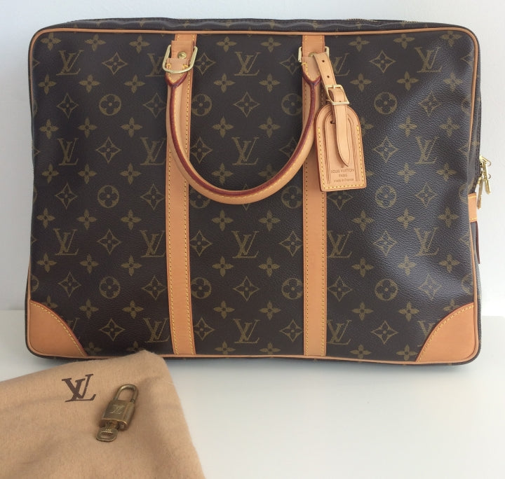 e10458b2b9 ... Load image into Gallery viewer, Louis Vuitton porte documents voyage ...
