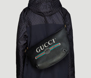 Gucci half moon hobo bag