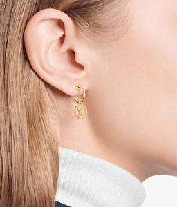 Louis Vuitton blooming earrings