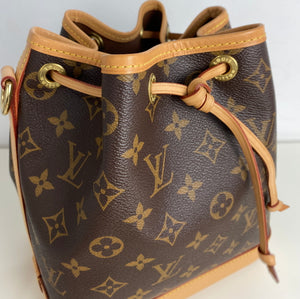 Louis Vuitton Noe BB bucket bag no strap