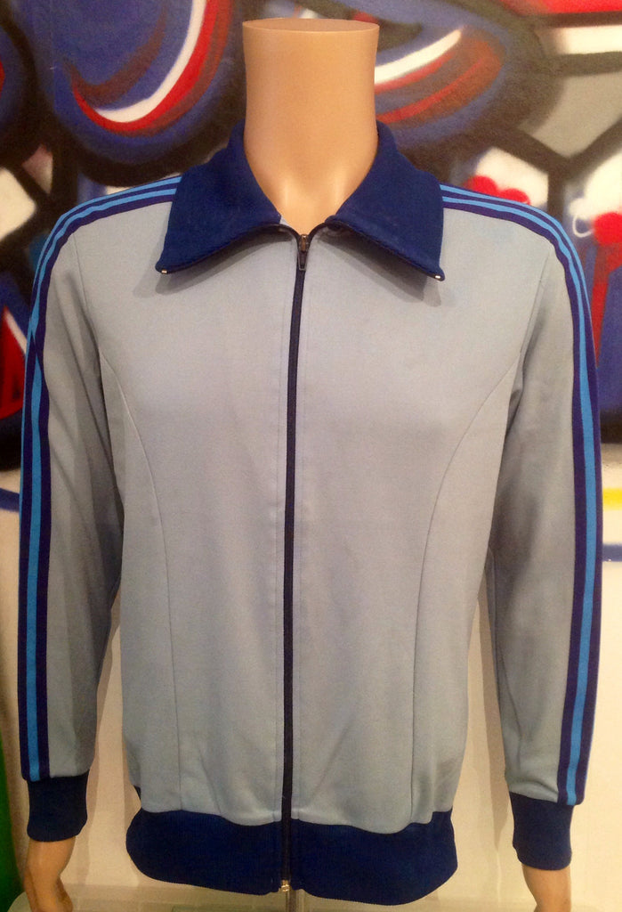 Vintage Adidas Windbreaker Tracksuit Top Small Totally 80s Casuals