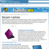 Low-cost laptops © MSN UK