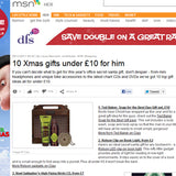 Christmas gift guide © MSN UK