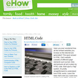 eHow - HTML the basics by Laura Maxwell