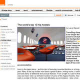 Hip Hostel Travel Article © Orange UK