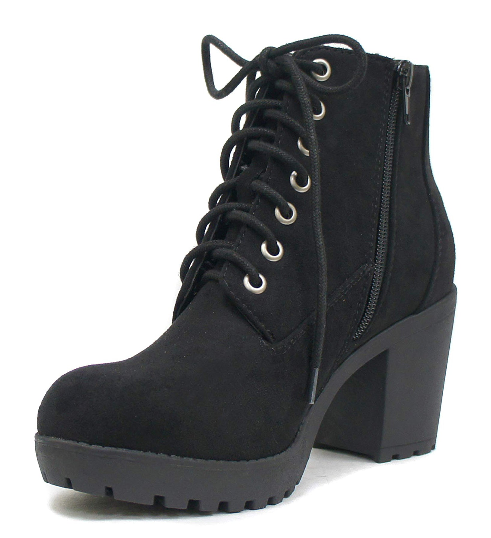 SECOND-S Black Suede Soda