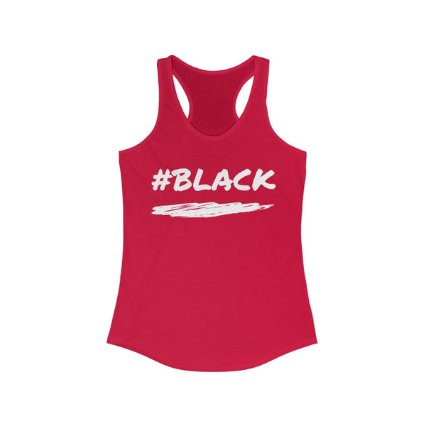 KM Women's #Black Tank Top